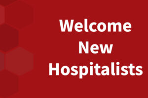 Welcome New Hospitalists