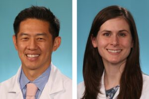 2021 General Internal Medicine Teachers of the Year – Dennis Chang, MD and Carol Faulk, MD